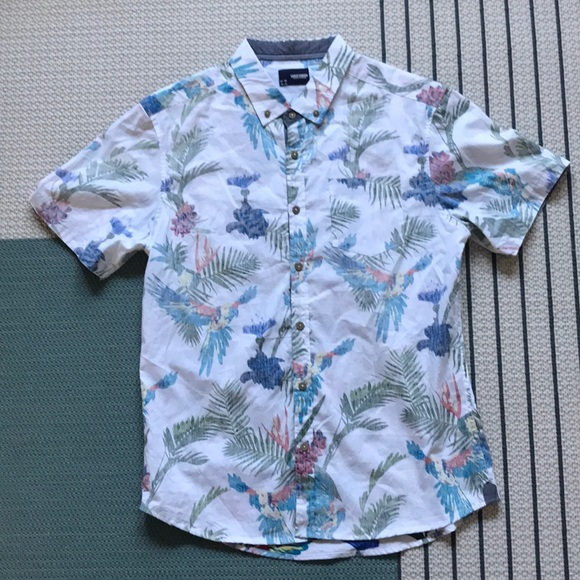 05406daf Sunrise Kingdom Shirts | Mens Short Sleeve Aloha Shirt | Poshmark